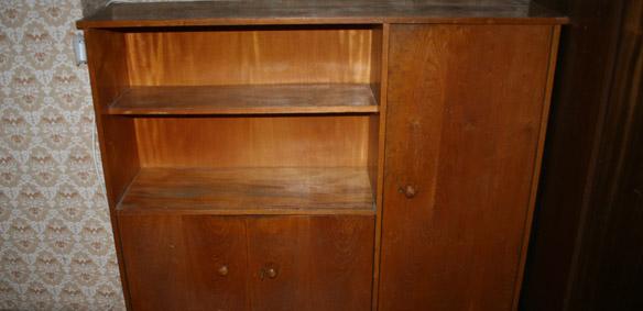 Изхвърляне на стари шкафове